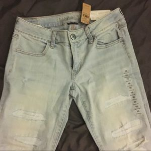 American Eagle Outfitters Jeans - American Eagle Super Stretch Low Rise Jeans